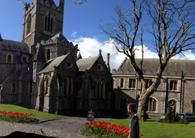 Christ Church in Dublin, over 1000 year old.