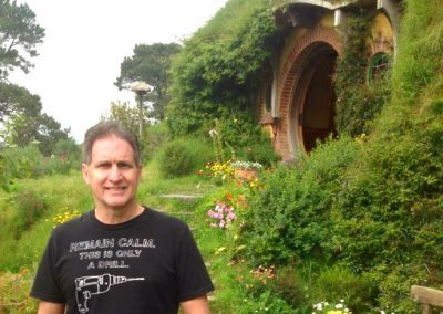 In-front-of-Bag-End Hobbiton