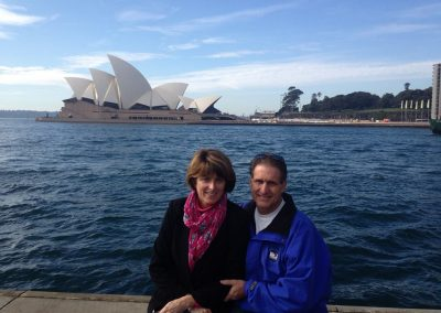 Sydney with my beautiful bride!