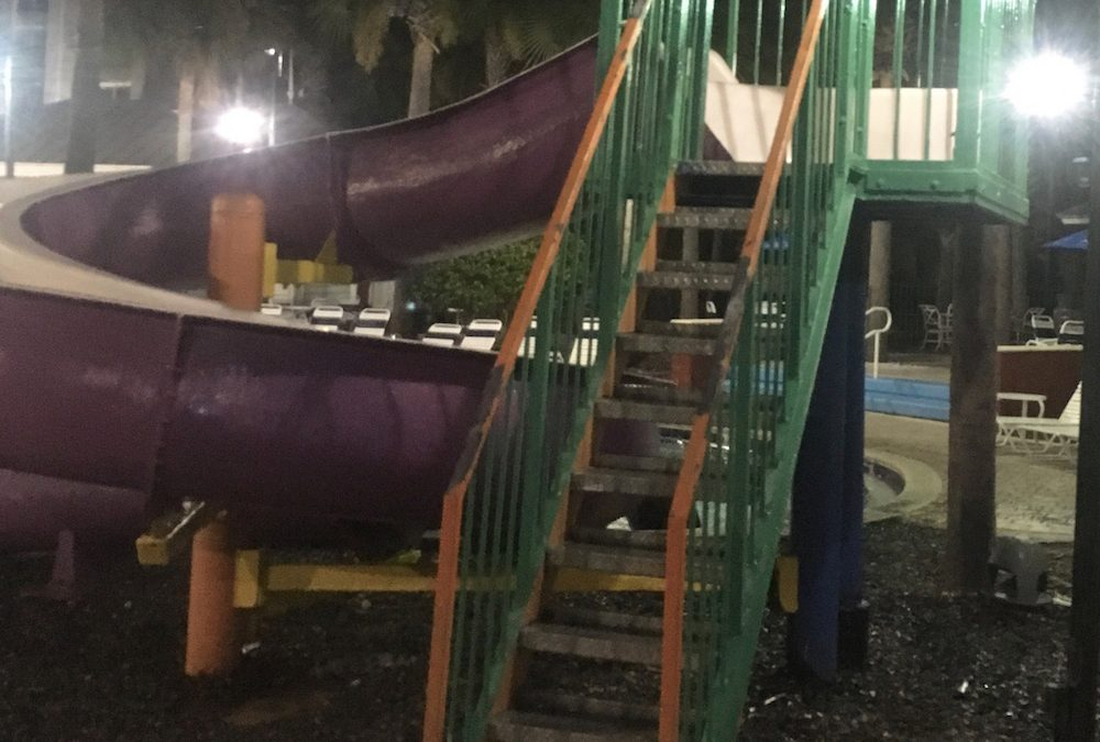 Would You Go Down the Slide?